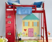 Łóżko piętrowe, pokój dziecka